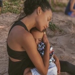 JUST THE TWO OF US: Naya Rivera & Son Josey