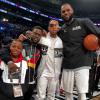 Hendrix Hart, Kevin Hart, Ludacris & LeBron James
